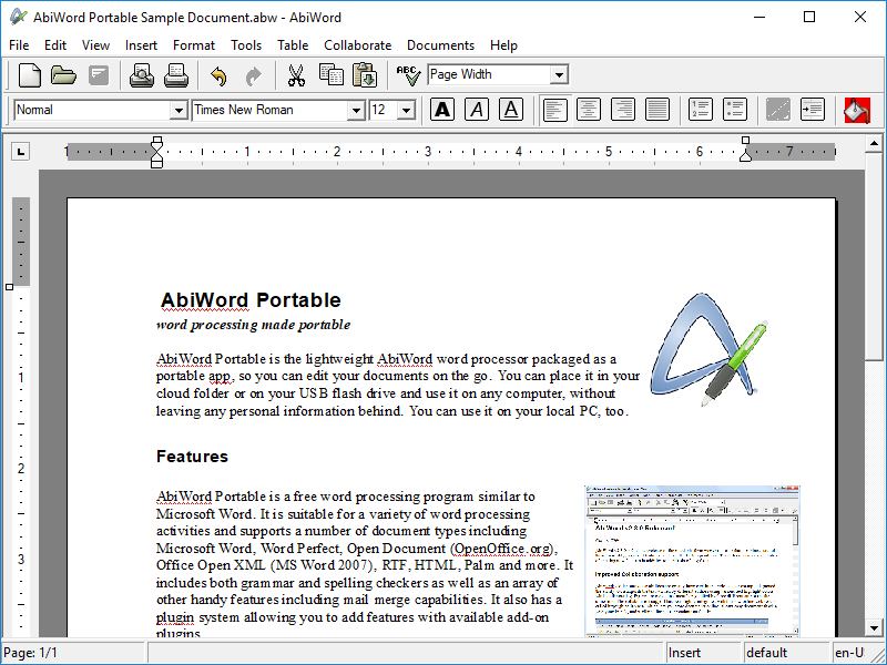 free word processing software for windows xp