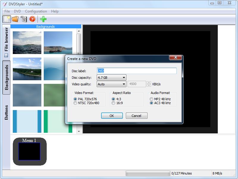 DVDStyler Portable 3.1 full
