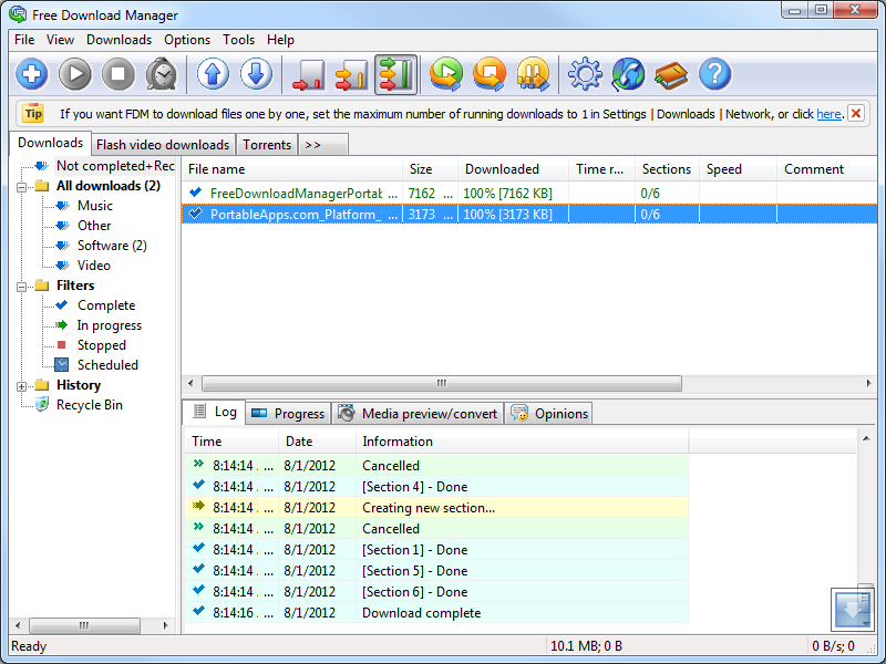 free download manager software download full version