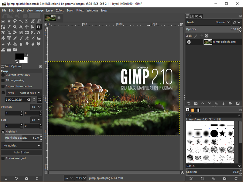 gimp free download for windows 10