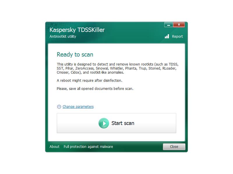 anti rootkit utility tdsskiller free download