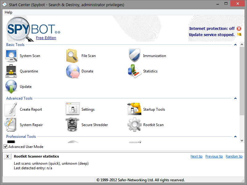 download spybot search destroy latest version free