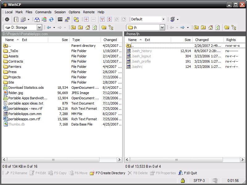 winscp software free download for windows xp