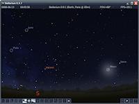 Stellarium Portable Screenshot